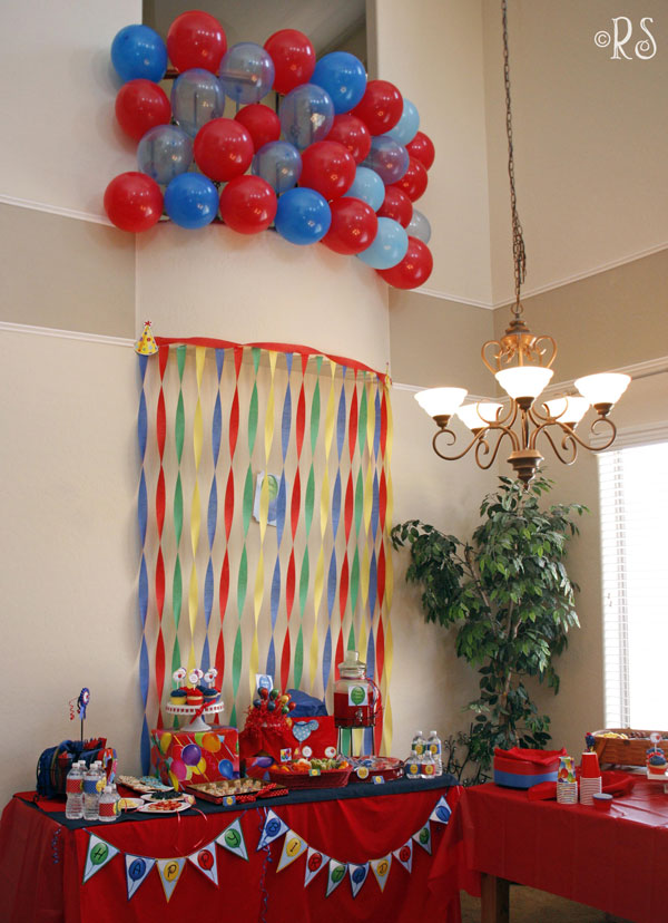 New collection balloon party renee 39 s soirees for Balloon and streamer decoration ideas